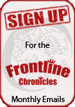 Sign up for the free Frontline Chronicles monthly newsletter.